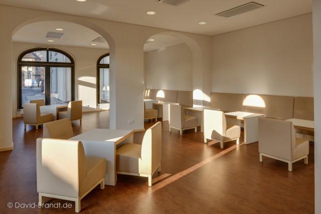 Universitätsklinikum Carl Gustav Carus TU Dresden Neubau Mitarbeiterrestaurant - Bauplanung, Projektsteuerung und Bauprojektmanagement SHP Architekten