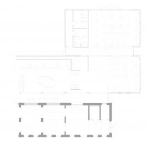Universitätsklinikum Carl Gustav Carus TU Dresden, Neubau Mitarbeiterrestaurant (Kooperation) - Bauplanung, Projektsteuerung und Bauprojektmanagement SHP Architekten, Dresden