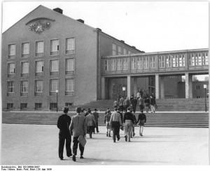 TU Dresden Hochleistungsrechner - Bauplanung, Projektsteuerung und Bauprojektmanagement SHP Architekten, Dresden © Bundesarchiv