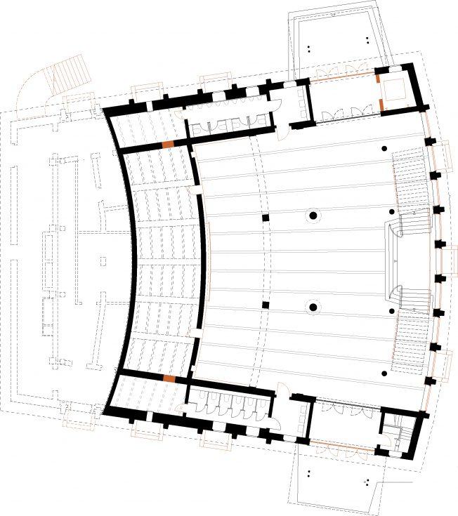 Schönfeld - Hörsaal Barkhausenbau TU Dresden - Bauplanung, Projektsteuerung und Bauprojektmanagement SHP Architekten, Dresden