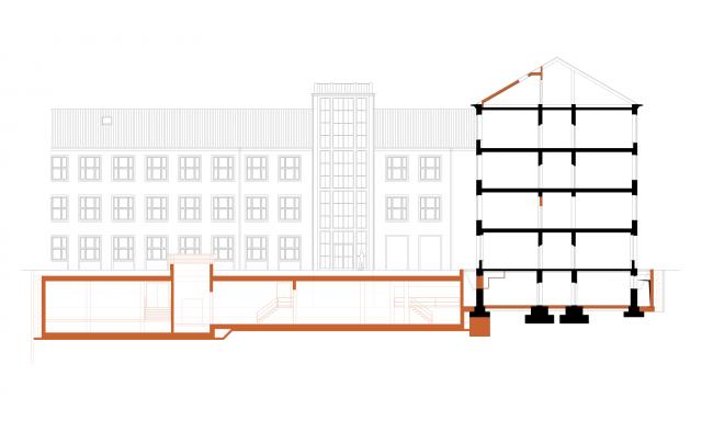 Neubau Technikzentrale und Kälteinsel einschließlich Infrastrukturmaßnahmen und baulicher Instandsetzung
