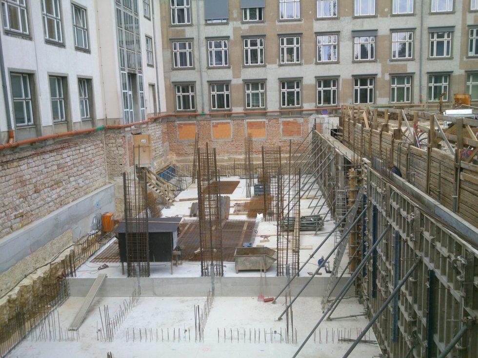 SHP-Bauprojekte.de-B-50-TVE - Bauphase Technikzentrale