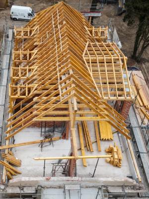 Wohnen am Brockhauspark - Sanierung Villa - Bauplanung, Projektsteuerung und Bauprojektmanagement SHP Architekten, Dresden © David Brandt