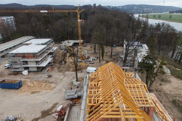 Wohnen am Brockhauspark - Projektmanagement - Bauplanung, Projektsteuerung und Bauprojektmanagement SHP Architekten, Dresden © David Brandt