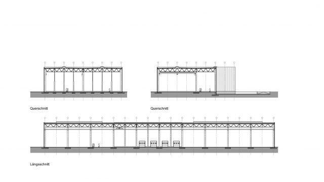 Neubau einer Logistikhalle in Systembauweise